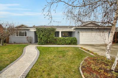 MOUNTAIN VIEW Single Family Home For Sale: 3389 Ivan Way