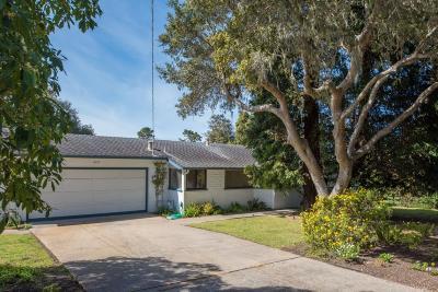 Pebble Beach Single Family Home For Sale: 1012 San Carlos Rd