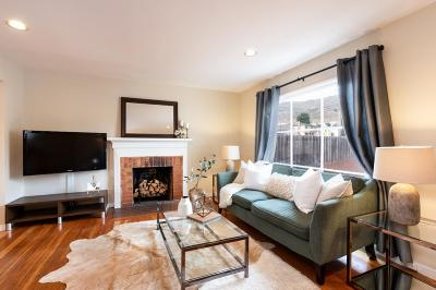 SOUTH SAN FRANCISCO Single Family Home For Sale: 517 Hillside Blvd