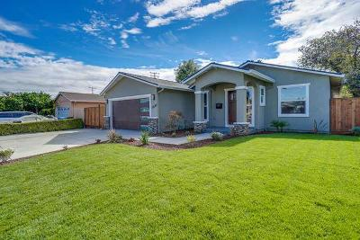 SANTA CLARA Single Family Home For Sale: 2640 Monroe St