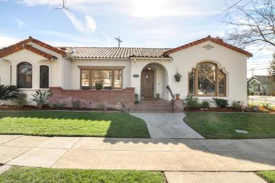 SAN JOSE Single Family Home For Sale: 150 Ayer Ave