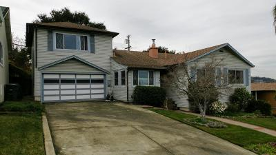 SAN MATEO CA Single Family Home Contingent: $1,500,000