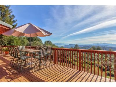 WATSONVILLE Single Family Home For Sale: 1040 Summit Rd