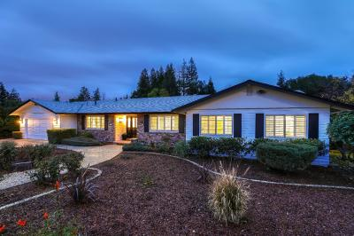 LOS GATOS Single Family Home For Sale: 706 More Ave