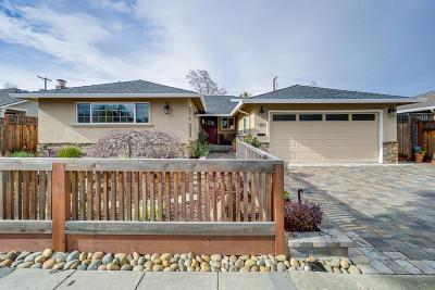 SUNNYVALE Single Family Home For Sale: 187 Sunset Ave