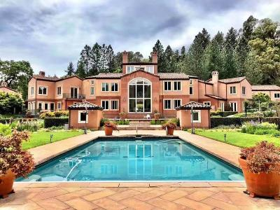 LOS GATOS CA Single Family Home For Sale: $15,000,000