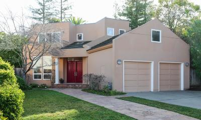 PALO ALTO Single Family Home For Sale: 1551 College Ave