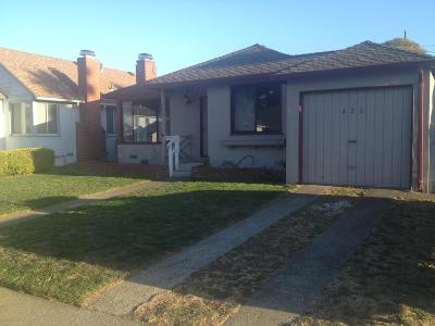 SOUTH SAN FRANCISCO Single Family Home For Sale: 426 Fairway Dr