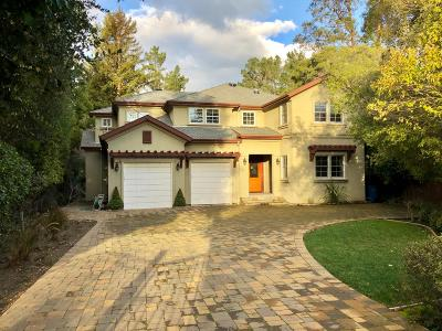 BURLINGAME CA Single Family Home For Sale: $4,398,000