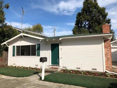 REDWOOD CITY Single Family Home For Sale: 3 Vera Ct