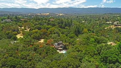 ATHERTON CA Single Family Home For Sale: $6,998,000