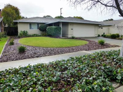 SAN JOSE Single Family Home For Sale: 1824 Rosswood Dr