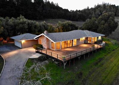 APTOS Single Family Home For Sale: 3867 Trout Gulch Rd