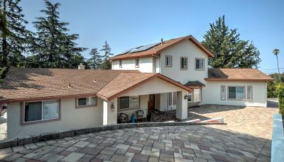 SAN JOSE Single Family Home For Sale: 10581 Observatory Dr