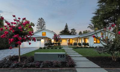 LOS ALTOS Single Family Home For Sale: 735 Raymundo Ave