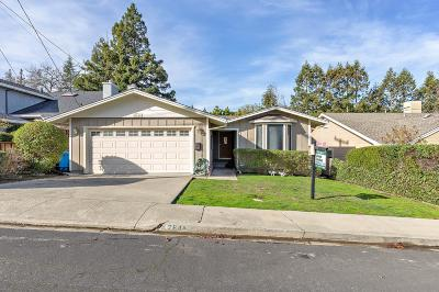 SAN CARLOS Single Family Home For Sale: 2648 Thornhill Dr