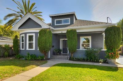 REDWOOD CITY Single Family Home For Sale: 628 Hurlingame Ave