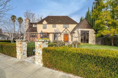 SANTA CLARA Single Family Home For Sale: 2390 Park Ave