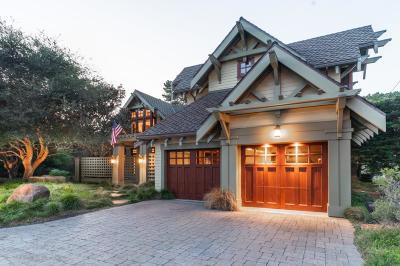 Pacific Grove Single Family Home For Sale: 130 Asilomar Blvd