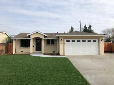 SANTA CLARA Single Family Home For Sale: 2281 Bowers Ave