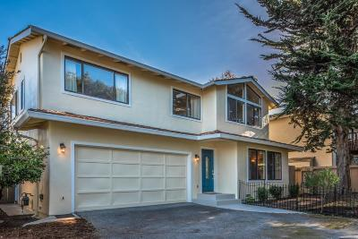 PACIFIC GROVE Single Family Home For Sale: 1339 David Ave