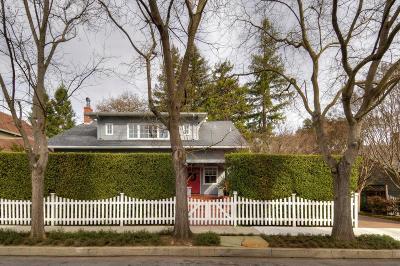REDWOOD CITY Single Family Home For Sale: 35 Hudson St