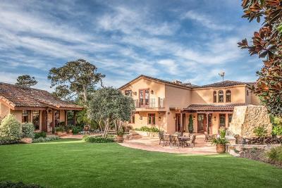 Pebble Beach Single Family Home For Sale: 3057 Cormorant Rd