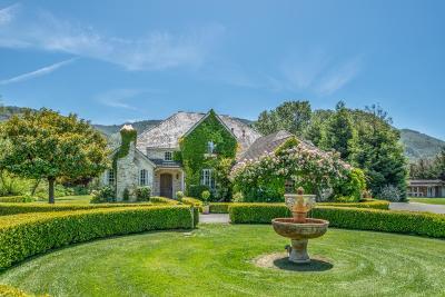 CARMEL Single Family Home For Sale: 8722 Carmel Valley Rd