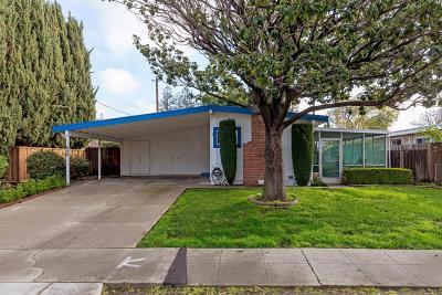 SUNNYVALE Single Family Home For Sale: 850 Tamarack Ln