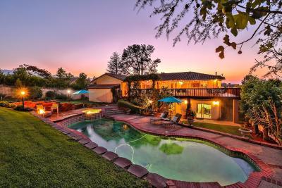 LOS GATOS Single Family Home For Sale: 308 Casitas Bulevar