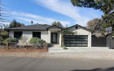 CAMPBELL Single Family Home For Sale: 1561 Vale Ave