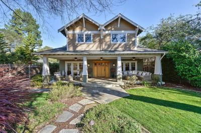 LOS GATOS Single Family Home For Sale: 17025 Pine Ave