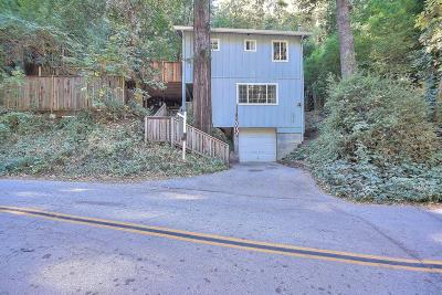 Scotts Valley Single Family Home For Sale: 1614 Lockhart Gulch Rd