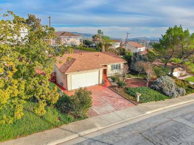 SAN JOSE Single Family Home Contingent: 4758 Rahway Dr