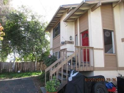 SANTA CRUZ Single Family Home For Sale: 1366 Bulb Ave
