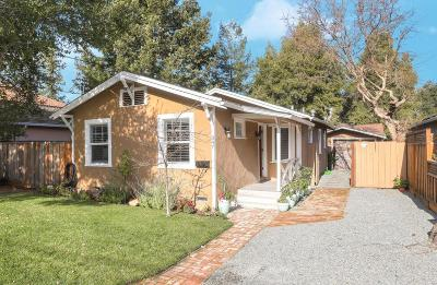 REDWOOD CITY Single Family Home For Sale: 347 San Carlos Ave