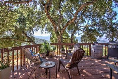 Carmel Valley Single Family Home For Sale: 20 Asoleado Dr