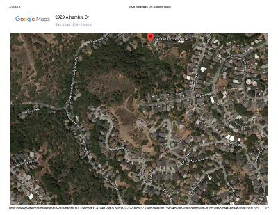 BELMONT Residential Lots & Land For Sale: 043222730 Alhambra Dr
