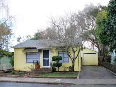 CAPITOLA Single Family Home For Sale: 708 Gilroy Dr