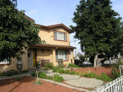 SANTA CLARA Multi Family Home For Sale: 1301 Jonathan St