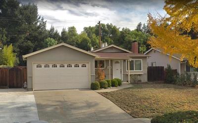 MILPITAS Single Family Home For Sale: 1606 Diel Dr
