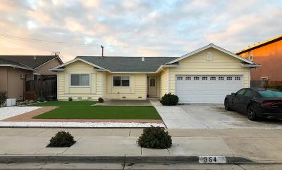 SAN JOSE Single Family Home For Sale: 354 Colville Dr