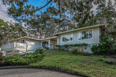 Pebble Beach Single Family Home For Sale: 3021 Forest Way