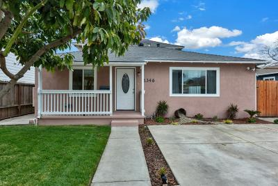 MENLO PARK Single Family Home For Sale: 1346 Madera Ave