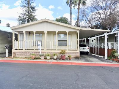 Atherton, East Palo Alto, Menlo Park, Portola Valley, Woodside, Campbell, Cupertino, Los Altos, Los Altos Hills, Los Gatos, Mountain View, Palo Alto, San Jose, Santa Clara, Saratoga, Sunnyvale Mobile Home For Sale: 510 Saddle Brook Dr 304