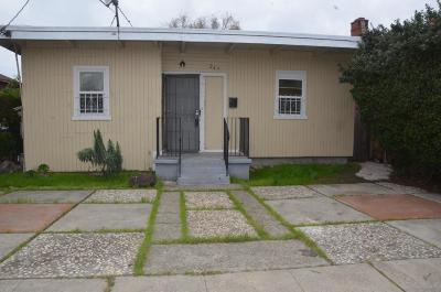 Contra Costa County, Alameda County Single Family Home For Sale: 247 Civic Center St
