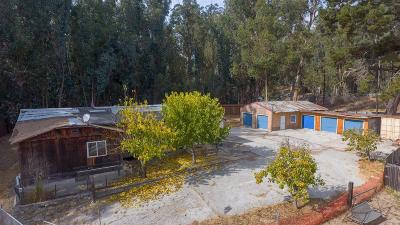SAN JUAN BAUTISTA Single Family Home For Sale: 1600 Rocks Rd