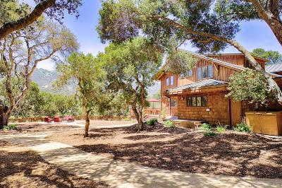 Carmel Valley Single Family Home For Sale: 7 La Rancheria