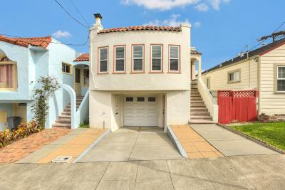 SAN BRUNO CA Single Family Home For Sale: $998,888