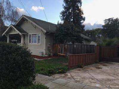 SAN JOSE Single Family Home For Sale: 1191 Curtiss Ave